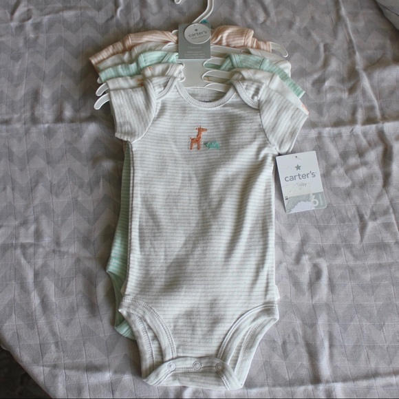 e5d31e940 Carter's One Pieces | Nwt Gender Neutral Carters Onesies | Poshmark
